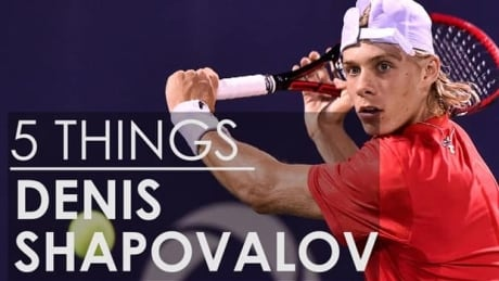 5 Things About Denis Shapovalov, Tennis Superstar
