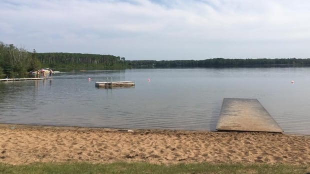 Seech Lake is located near Oakburn, in western Manitoba. Dead water beetles and crayfish were found on the lake's shore about two weeks ago, but officials say swimming in the lake is still safe.