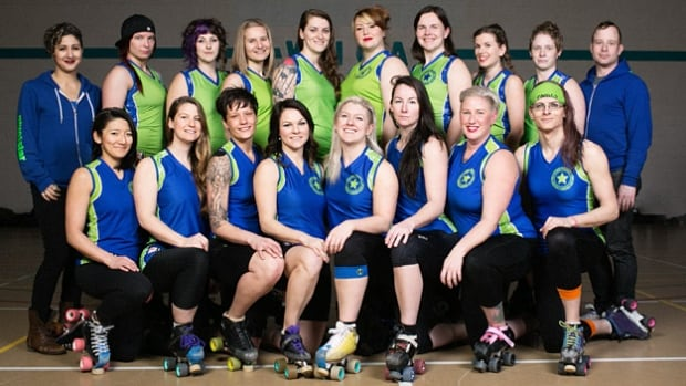 The Calgary Roller Derby Association All Stars are headed to the 2017 Women's Flat Track Derby Association Division-1 playoffs in Malmo, Sweden.