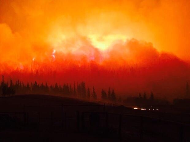 Williams Lake Fire