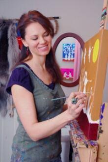 Leah in Studio