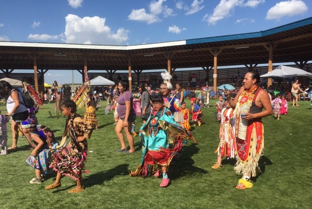 Powwow at Ochapowace.
