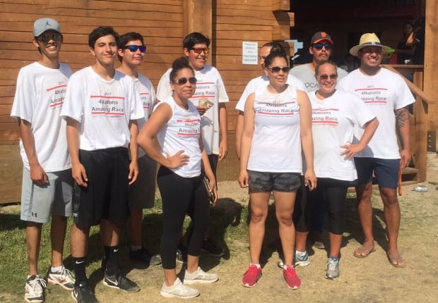 Cowessess First Nation amazing race team