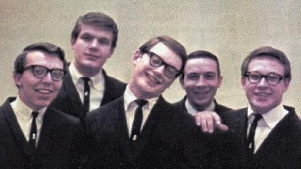 Chad Allan, third from left, with his band in 1962. It would go on to become The Guess Who.