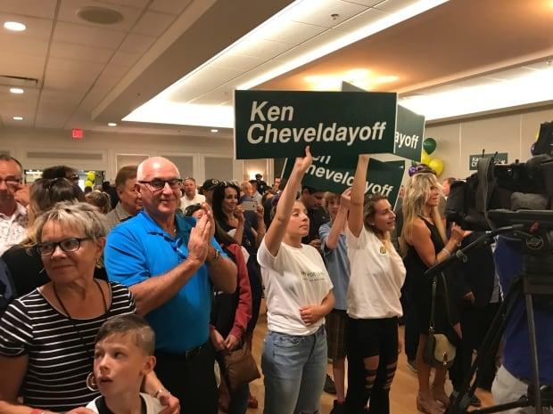 Crowd at Cheveldayoff launch