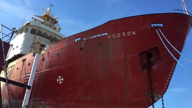 The coast guard refuses to say what delayed the maintenance work on the CCGS Hudson.