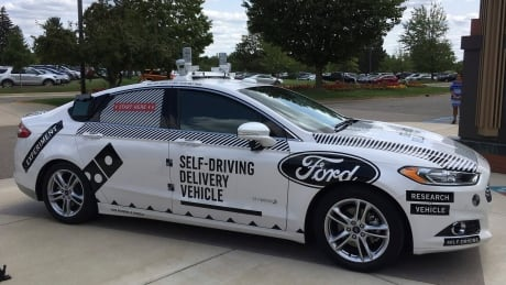Self-Driving Pizza Delivery