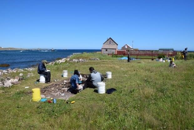 St. Pierre excavation