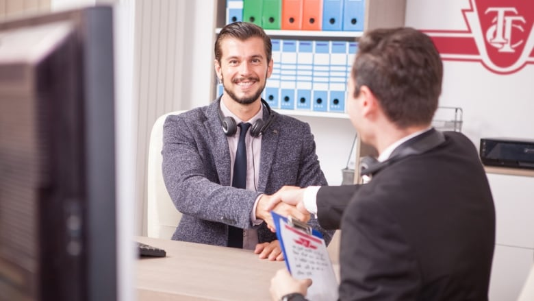 man late for job interview with ttc hired immediately cbc comedy