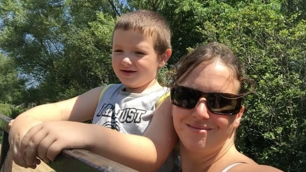 Tina Chapman is asking Quebec's administrative tribunal to overturn Retraite Québec's decision to deny her son, Blake, who has autism, an extra allowance that would help pay for his therapy.