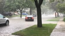 Flooding on Riverside Drive