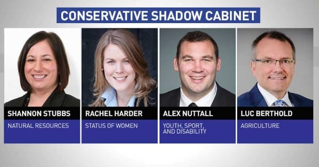 Conservative shadow cabinet