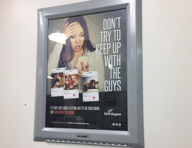 Anti-drinking ad in York U women's washroom blasted for being sexist