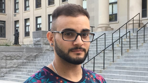 Karim Abu Zeid, a frosh week leader at the University of Ottawa, believes he should be allowed to carry and administer the opioid antidote naloxone while on duty.