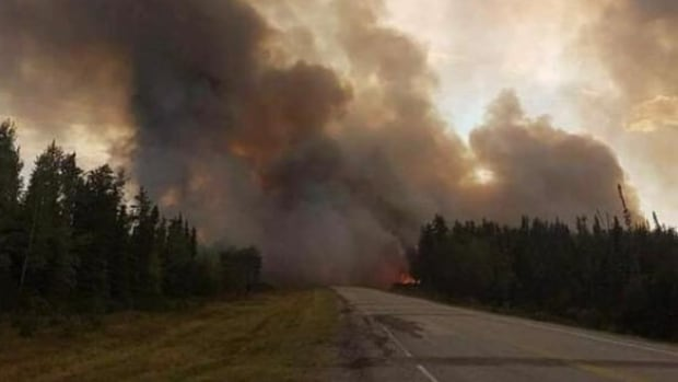 The community of Pelican Narrows in northern Saskatchewan was evacuated due to a wildfire this past summer.