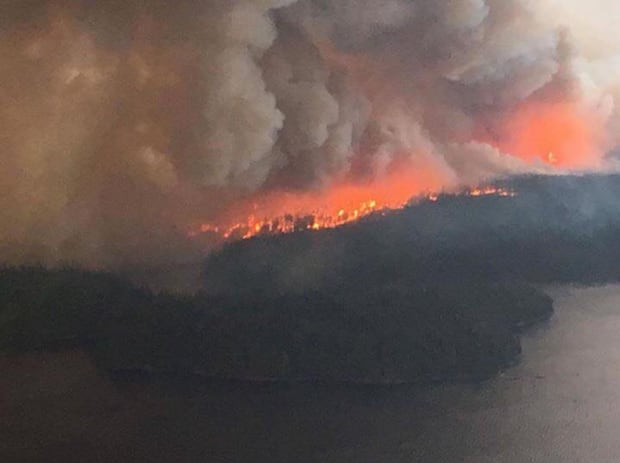 Fire in Wasagamack First Nation