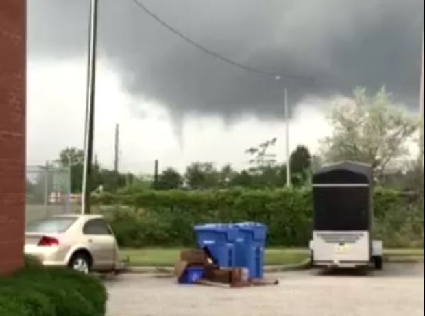 Thunderstorms Could Bring Funnel Clouds