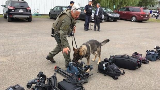 Prime Minister Justin Trudeau Moncton visit security