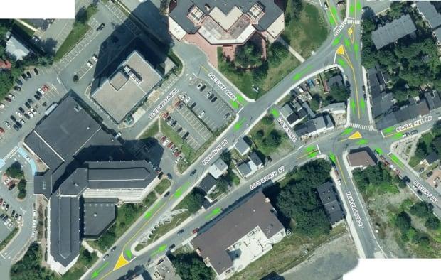 Duckworth Street Plymouth Road loop