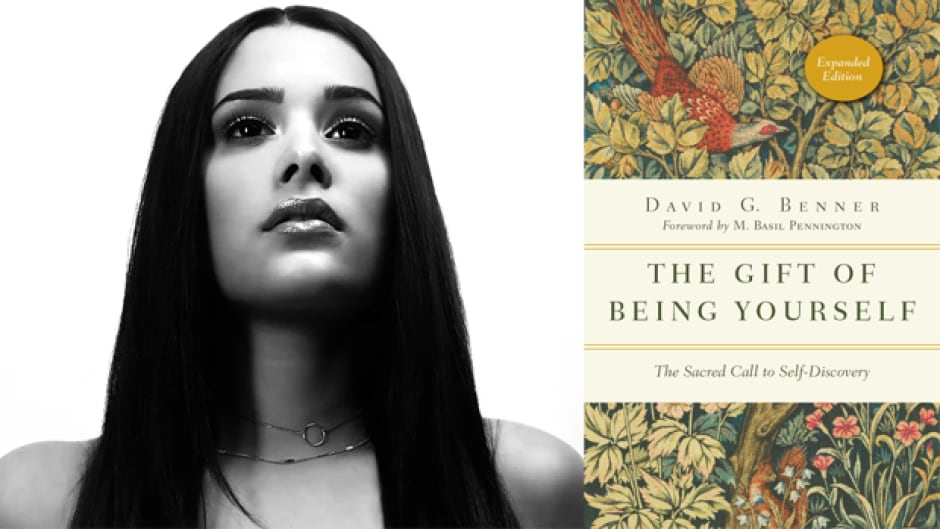 Singer-songwriter Liz Lokre says David Benner's book The Gift of Being Yourself has helped her with writing.