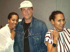 Chuck Hughes Isabelle Racicot Martine St-Victor