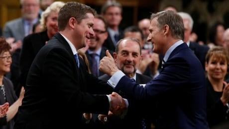 Andrew Scheer joins caucus members in condemning Bernier's 'identity politics' thumbnail