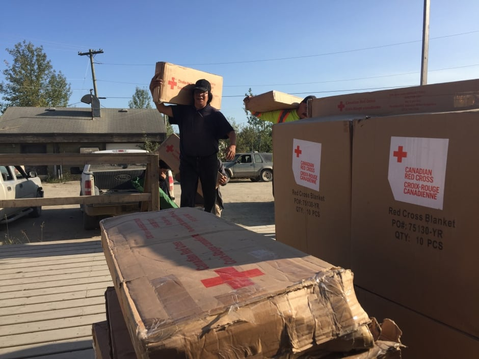 Red Cross supplies St. Theresa Point First Nation