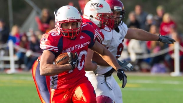 Simon Fraser University's football team had its best NCAA season in 2012, recording a 5-6 record to finish fourth in the Great Northwest Athletic Conference standings.