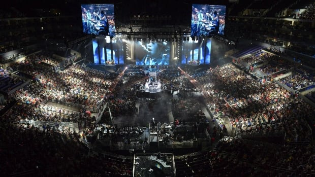 Live eSports events like this 2013 competition in Los Angeles have also packed the Air Canada Centre in Toronto and Vancouver's Pacific Coliseum.