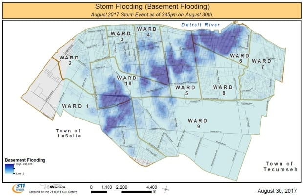 Southwestern Ont Mayors Call For Province To Help People Who Can - Map of us if climate change creates flooding on coats