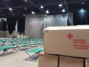 Canadian Red Cross, Winnipeg Convention Centre