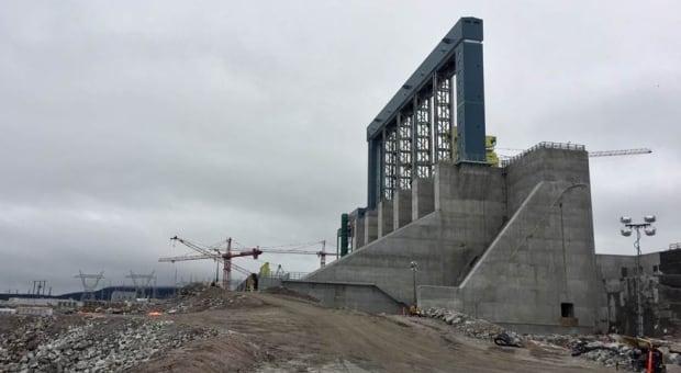 Muskrat Falls North Dam July 2017
