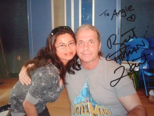 Bret Hart and Angie Garcia 2