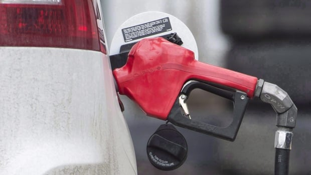 Gasoline prices were 14 per cent higher in September than they were a year earlier, mainly because of supply disruptions from Hurricane Harvey which hit in late August.