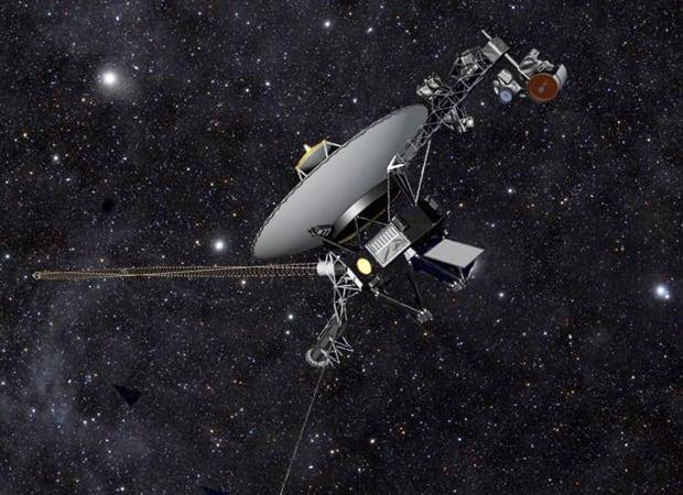 artist rendering NASA-Voyager 1