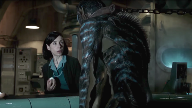 The Trailer for The Shape of Water Casts a Dark Spell