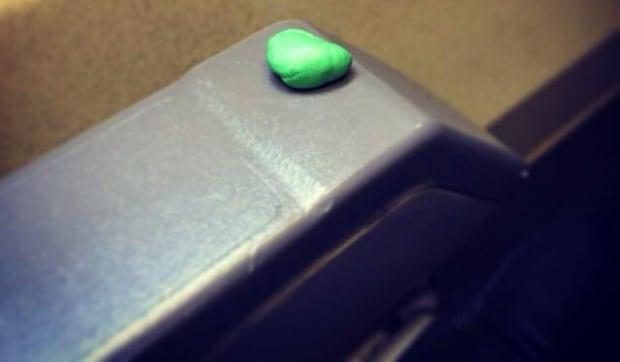 PassengerShaming chewing gum