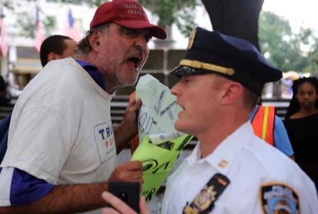 USA-PROTESTS/NEW YORK