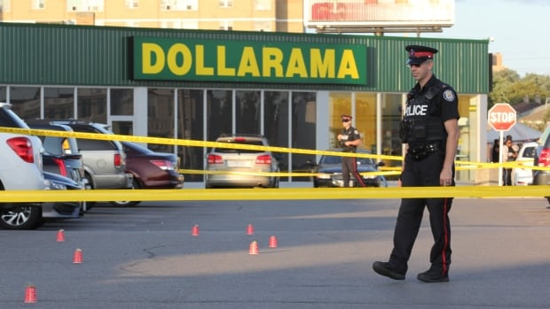 Four suspects sought after fatal shooting in Toronto mall