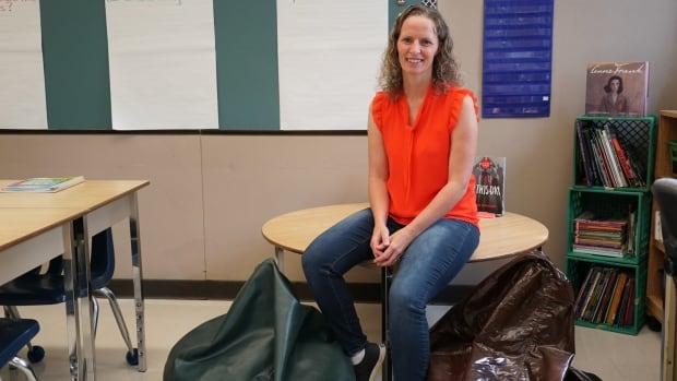 Heidi Solway Sits In The Reading Nook Of Her Classroom At Emily Carr Public School