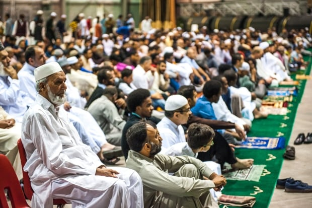Many said they found the large turnout at the Eid al Adha event heartwarming