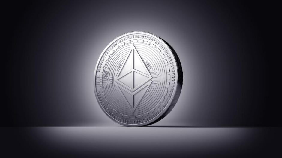 Ether, like bitcoin, has seen a dramatic increase in value over the last year.