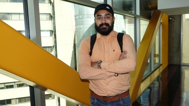 Gurpreet Singh has just arrived in Ottawa from India to begin his graduate degree at the University of Ottawa's computer science program.