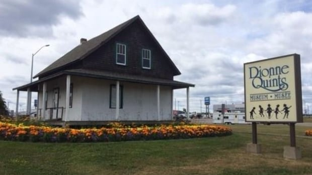 The birth home of the Dionne quintuplets, currently located on Highway 17 in North Bay, Ont., will be moved in November to the city's waterfront, downtown.