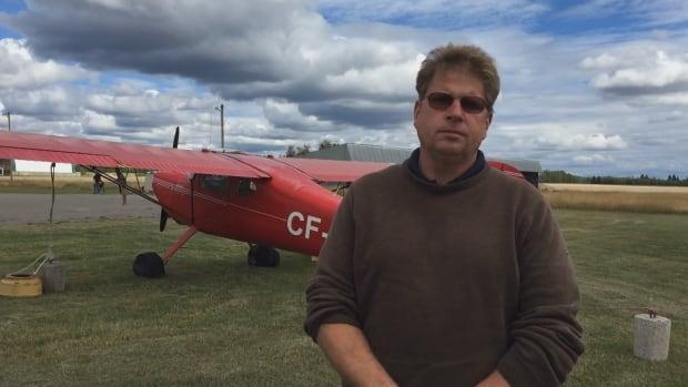 Flight instructor Eric Stier