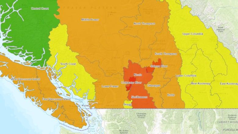 drought map Sep 1