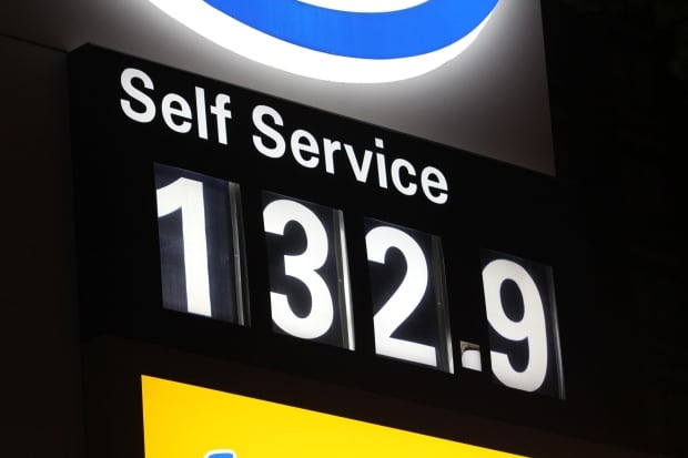 Harvey gasoline prices