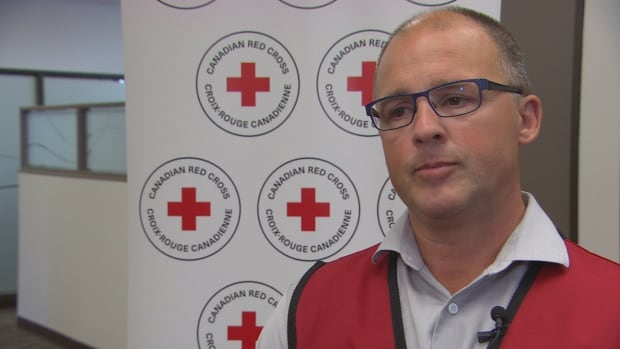 Shawn Feely, vice-president (Manitoba and Nunavut) for the Canadian Red Cross.