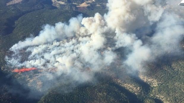 Finlay Creek Wildfire bc wildfire service