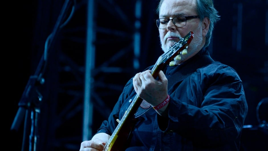 INDIO, CA - APRIL 10:  Musician Walter Becker of Steely Dan performs onstage during day 1 of the 2015 Coachella Valley Music & Arts Festival (Weekend 1) at the Empire Polo Club on April 10, 2015 in Indio, California.